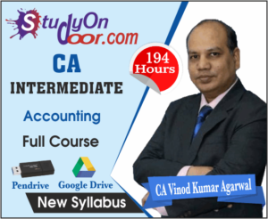 CA Intermediate Accounting Full Course New Syllabus By CA Vinod Kumar Agarwal