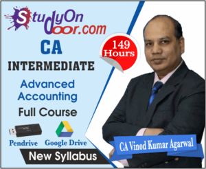 CA Intermediate Advanced Accounting Full Course New Syllabus By CA Vinod Kumar Agarwal