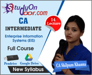CA Intermediate Enterprise Information Systems (EIS) New Syllabus by CA Shilpum Khanna
