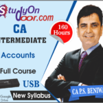 CA Intermediate Group 1 Accounting Full Course New Syllabus by CA PS Beniwal