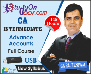 CA Intermediate Group 2 Advance Accounting Full Course New Syllabus by PS Beniwal