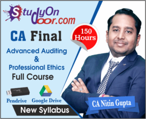 CA Final Advanced Audit and Professional Ethics New Syllabus by CA Nitin Gupta