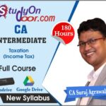 CA Intermediate Income Tax Full Course by CA Suraj Agrawal