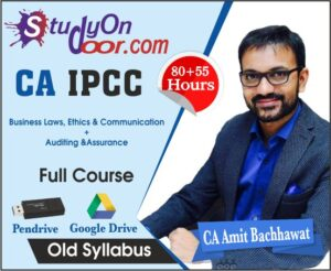 CA IPCC Combo Law + Audit Full Course by CA Amit Bachhawat