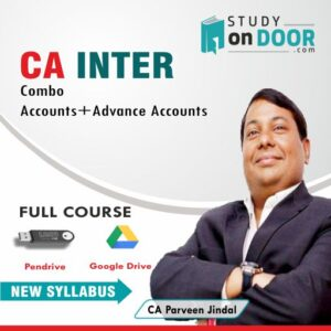 CA Intermediate Combo (Accounts + Advanced Accounts) by CA Parveen Jindal