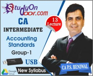 CA Intermediate Group 1 Accounting Standards New Syllabus By P S Beniwal