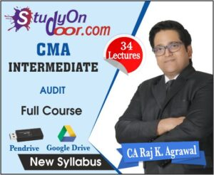 CMA Intermediate Audit Full Course by CA Raj K Agrawal