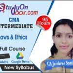 CMA Intermediate Paper 6 Laws & Ethics Full Course by CA Jaishree Soni