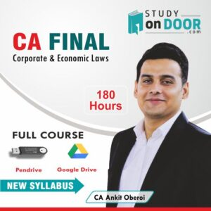 CA Final Corporate and Economic Laws Full Course New Syllabus by CA Ankit Oberoi - StudyOnDoor