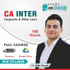 CA Intermediate Corporate and Other Laws Full Course New Syllabus by CA Ankit Oberoi