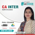 CA Intermediate Audit and Assurance Full Course by CA Aarti Lahoti