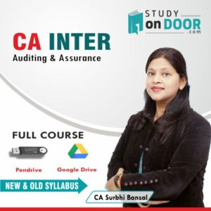 CA Intermediate Auditing & Assurance by CA Surbhi Bansal