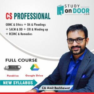 CS Professional Combo Full Course New Syllabus by CA Amit Bachhawat