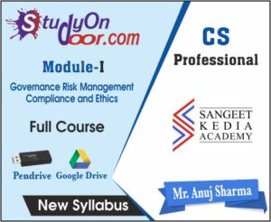 CS Professional Governance Risk Management Compliance and Ethics New Syllabus by CS Anuj Sharma