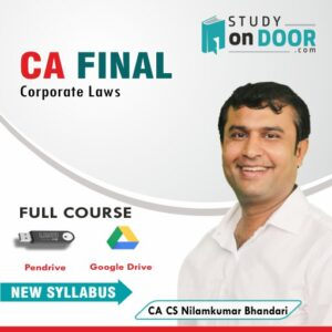 CA Final Corporate Laws Full Course by CA CS Nilamkumar Bhandari