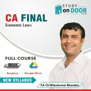 CA Final Economic Laws Full Course by CA CS Nilamkumar Bhandari