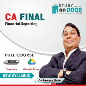 CA Final Financial Reporting (FR) by CA Parveen Jindal