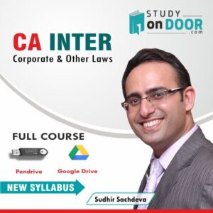 CA Intermediate Corporate and Other Laws by Sudhir Sachdeva