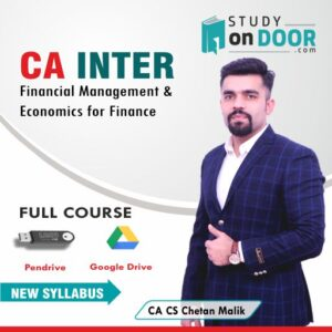 CA Intermediate Financial Management and Economics for Finance (FM-ECO) Full Course by CA CS Chetan Malik