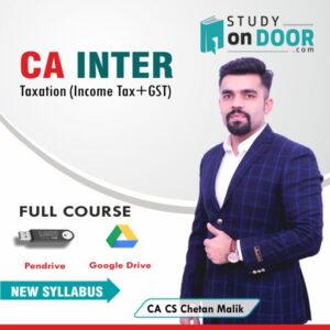 CA Intermediate Taxation Full Course by CA CS Chetan Malik