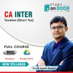 CA Intermediate Taxation (Only Direct Tax) Full Course by CA Ashish Deolasi