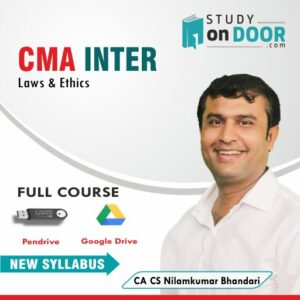 CMA Intermediate Laws and Ethics Full Course by CA CS Nilamkumar Bhandari