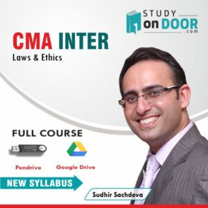 CMA Intermediate Laws and Ethics Full Course by Sudhir Sachdeva