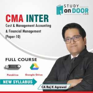 CMA Intermediate Cost & Management Accounting & Financial Management by CA Raj K Agrawal