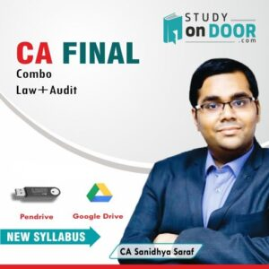 CA Final Combo (Law-Audit) (90 H) by CA Sanidhya Saraf