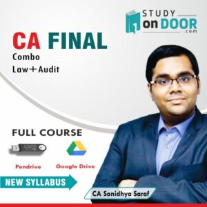CA Final Combo (Law-Audit) by CA Sanidhya Saraf