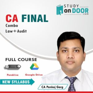 CA Final Combo (Law+Audit) by CA Pankaj Garg