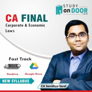 CA Final Corporate and Economic Laws Fast Track by CA Sanidhya Saraf