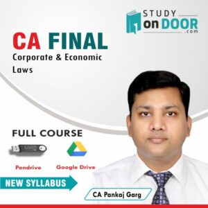 CA Final Corporate and Economic Laws by CA Pankaj Garg