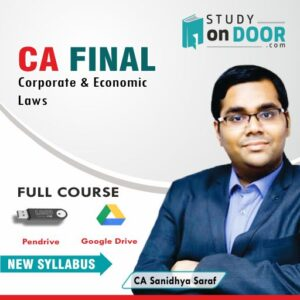 CA Final Corporate and Economic Laws by CA Sanidhya Saraf