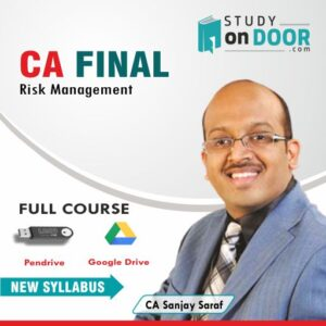 CA Final Risk Management (Elective) by CA Sanjay Saraf