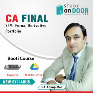 CA Final Strategic Financial Management (SFM) by CA Anoop Modi