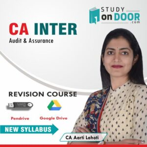 CA Intermediate Audit & Assurance Revision Course by CA Aarti Lahoti
