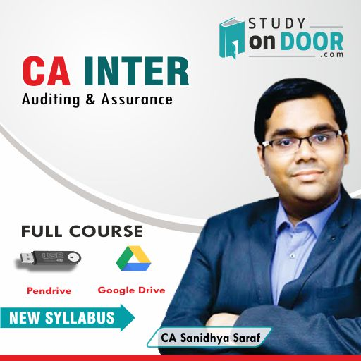 CA Intermediate Auditing and Assurance by CA Sanidhya Saraf