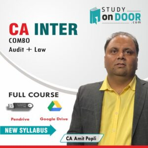 CA Intermediate Combo (Audit+Law) by CA Amit Popli