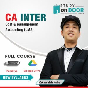 CA Intermediate Cost and Management Accounting (CMA) by CA Ashish Kalra