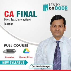 CA Final Direct Tax by CA Satish Mangal