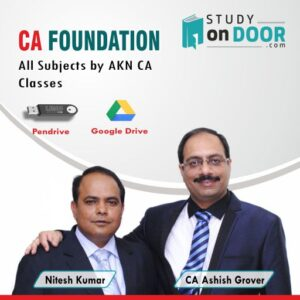 CA Foundation All Subjects by AKN CA Classes