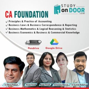 CA Foundation All Subjects by Pace Academy