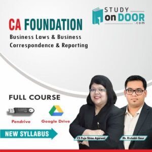 CA Foundation Business Laws & Business Correspondence & Reporting