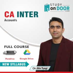 CA Intermediate Accounts by CA Jitin Tyagi