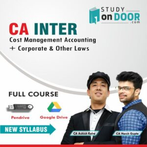 CA Intermediate Combo (CMA+law) by CA Ashish Kalra & CA Harsh Gupta
