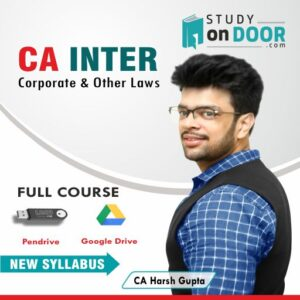 CA Intermediate Corporate and Other Laws by CA Harsh Gupta