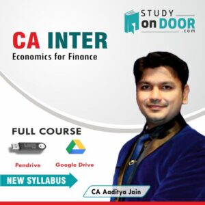 CA Intermediate Economics for Finance (Eco) by CA Aaditya Jain