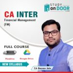 CA Intermediate Financial Management (FM) by CA Gaurav Jain