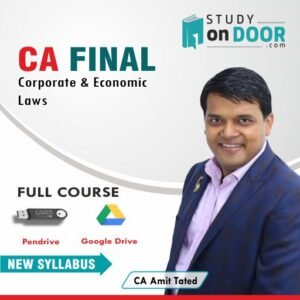 CA Final Corporate & Economic Laws by CA Amit Tated